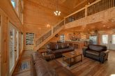 Cabin on the River with luxury furnishings