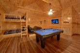Premium Cabin with Pool Table and Media Room