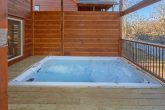 Premium Cabin with Swim Spa Hot Tub on deck