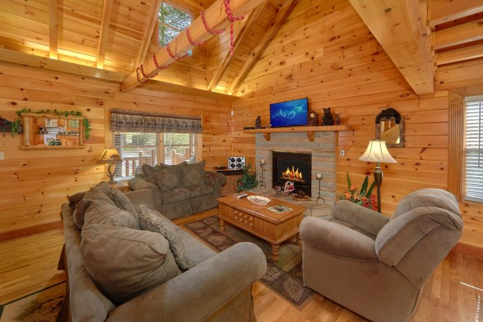 3 Bedroom Cabin with Living Room and Fireplace - Sassy Lady