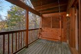 Covered Deck with Swing 1 Bedroom