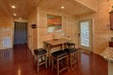 2 Bedroom Cabin Open Kitchen and Living Room