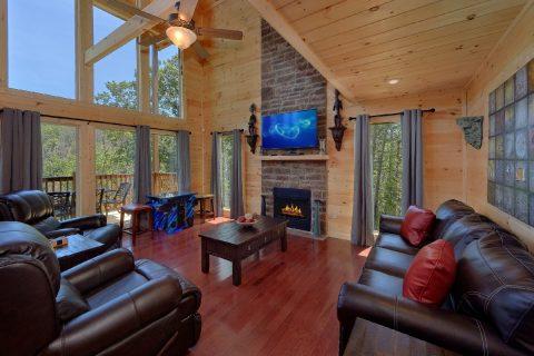 2 Bedroom 3 Bath cabin Sleeps 6 - Scenic Mountain Pool