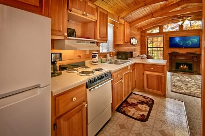 cabin with full size kitchen - Secret Rendezvous