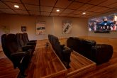 Large Flat Screen TV Theater Room