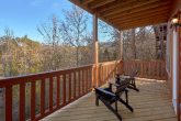 2 Bedroom Cabin with Covered Deck Pigeon Forge