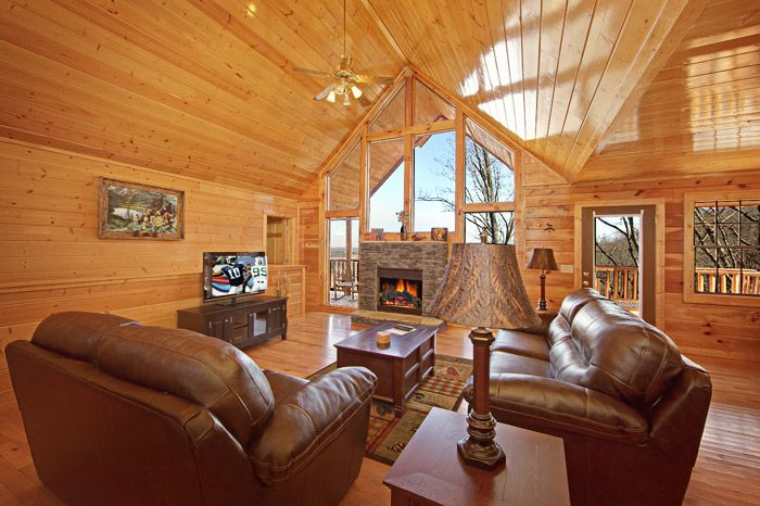 Cabin with Open Living Room - Shakonohey