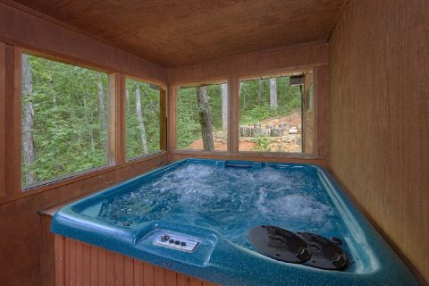 Hot Tub Off Master Bedroom Screened In - Simply Incredible