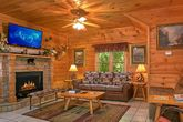 Resort Cabin with Sleeper Sofa and Fireplace