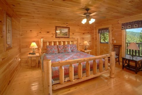 Cabin with King Bedroom with Private Deck - Simply the Smokies