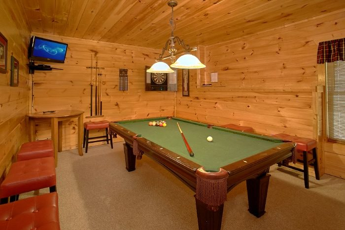 Family Size cabin with Pool Table & Game Room - Simply the Smokies