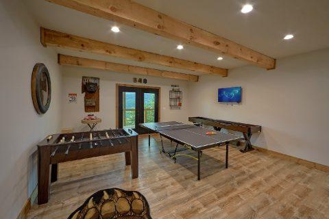 Game Room Shuffle Board, Foos Ball, Ping Pong - Smokey Mountain High