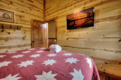 Relaxation 4 Bedroom Cabin Smokey Ridge Resort - Smokey Ridge