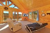 Cabin with Upstairs Den/Game Room