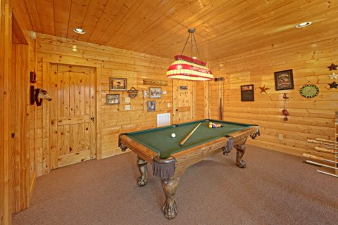 Cabin with Pool Table - Smokies View