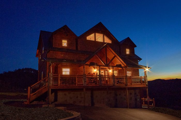 Smoky Bear Lodge Cabin Rental Photo