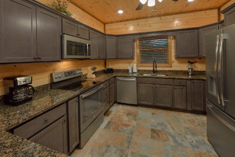Fully Furnished Kitchen in 3 bedroom cabin - Smoky Bear Lodge