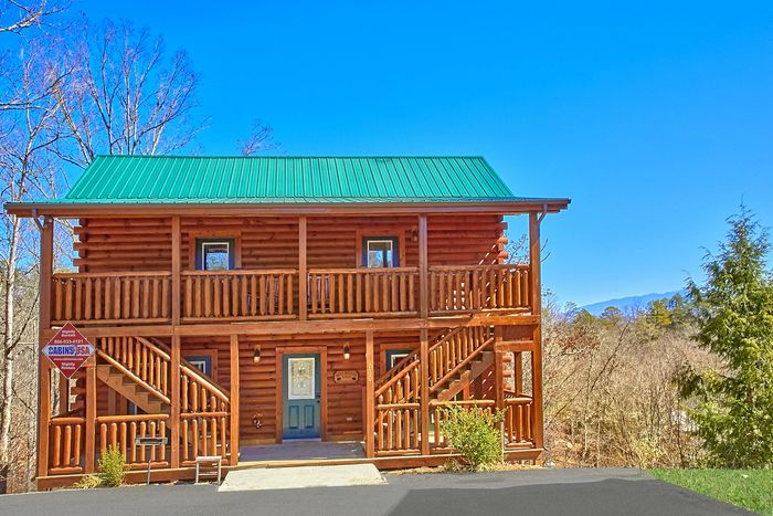 Smoky Mountain Lodge 7 Bedroom Cabin Sleeps 17 Cabins Usa