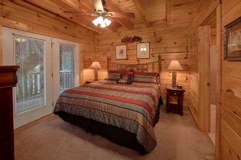 Spacious 7 Bedroom Cabin with 6 King beds - Smoky Mountain Lodge