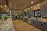 Luxurious kitchen with double Fridges and stoves