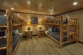 2 sets of Queen Bunkbeds in 15 bedroom cabin
