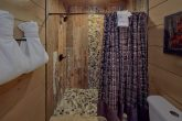 Luxurious shower in 15 bedroom cabin Master Bath