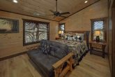 King Bedroom with Full bath in 15 bedroom cabin