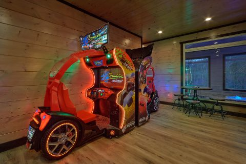 15 bedroom cabin rental with Race Car Games - Smoky Mountain Masterpiece