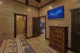 Private bath in Bedroom at 15 bedroom cabin
