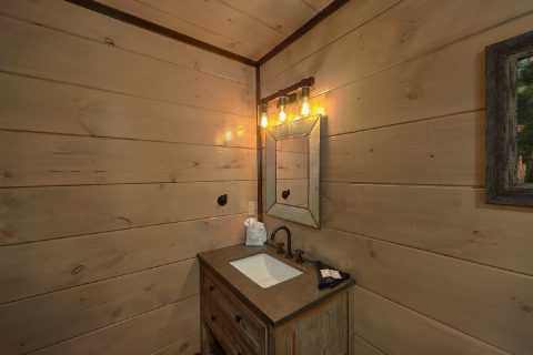Cabin for 60 plus guests with 15 full bathrooms - Smoky Mountain Masterpiece