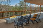 Premium cabin rental with fire pits and views