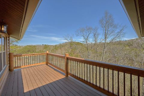 Mountain Views from 15 bedroom luxury cabin - Smoky Mountain Masterpiece