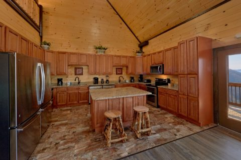 Kitchen with 2 stoves and 2 dishwashers - Smoky Mountain Memories