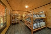 12 bedroom cabin with Bunk Beds for 10