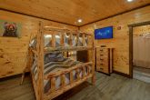 Bunk Bedroom for 10 with Private Bath