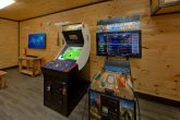 Cabin with Golden Tee Golf and Buck Hunter Games