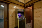 Cabin with 6 Arcade Games and Pool Table