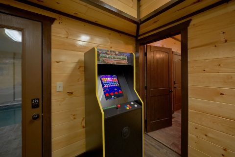 Cabin with 6 Arcade Games and Pool Table - Smoky Mountain Memories