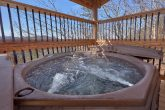 Private Hot Tub at 12 Bedroom Luxury cabin
