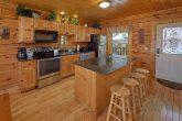 Large Open Floor Plan 5 Bedroom Cabin Sleeps 16