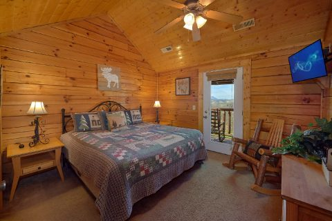 5 Bedroom Cabin with Extra Sleeping - Smoky Mountain Retreat