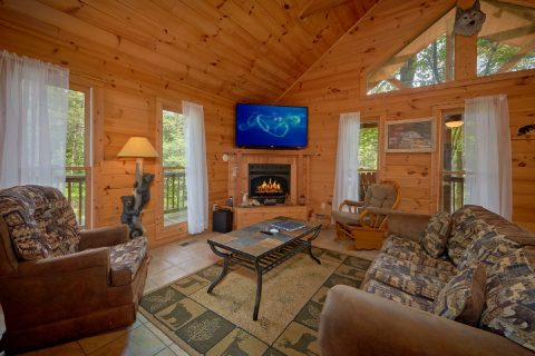 Honeymoon 1 Bedroom Cabin - Smoky Mountain Time