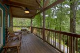 Large Wrap Aeound Deck with Rocking Chairs