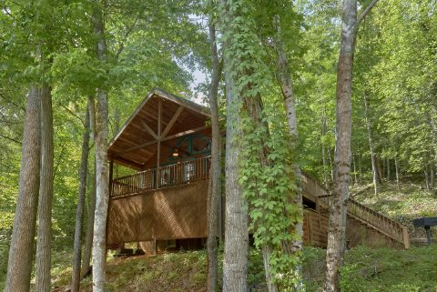 Secluded 1 Bedroom Honeymoon Cabin - Smoky Mountain Time