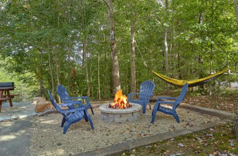 2 bedroom cabin with Fire Pit and hammock - Sneaky Bear Getaway