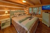 Cabin with King bed in Master Bedroom