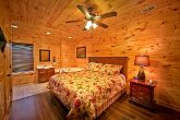 Cabin with King bed and corner jacuzzi