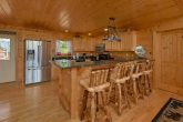 Spacious kitchen in 5 bedroom cabin