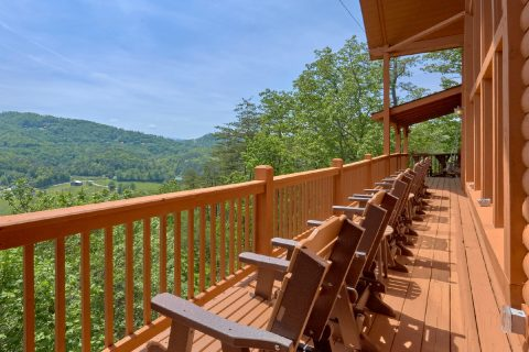 5 Bedroom cabin with views of Wears Valley - Soaring Ridge Lodge
