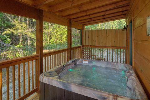 Private Hot Tub Coved Porch - Song of the South